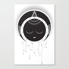 MoonSun Goddess Canvas Print