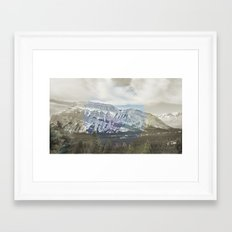 Tunnel Mountain Framed Art Print