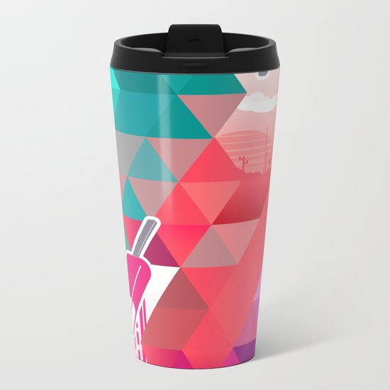 The Year in Popsicles Metal Travel Mug