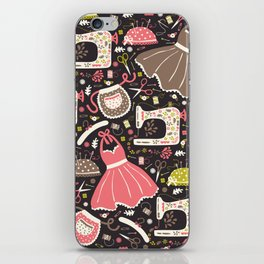 Vintage Sewing iPhone Skin