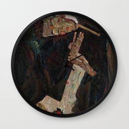 Egon Schiele - The Lyricist Wall Clock