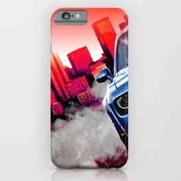 Art of Burning Rubber iPhone Case