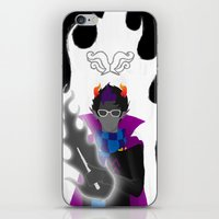 homestuck iPhone & iPod Skins featuring Afraid of the Darko by catalysticskies