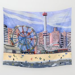 Coney Island Wall Tapestry
