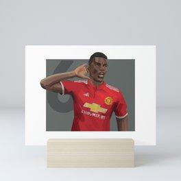 Pogba 6 - Football Mini Art Print