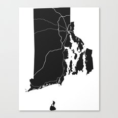 Home State - Rhode Island Canvas Print