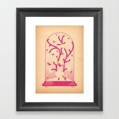 teca Framed Art Print