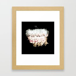 identity 4.3 · expand yourself Framed Art Print