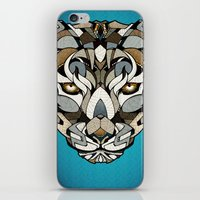 leopard iPhone & iPod Skins featuring Leopard by Andreas Preis