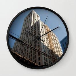Sky Scrape Wall Clock
