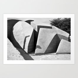 Solid and Void #2 Art Print