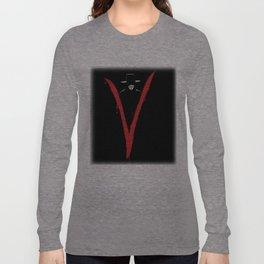 V for Vendett (e6) Long Sleeve T-shirt