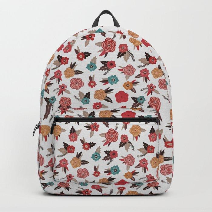 Pop Flower Belt Backpack