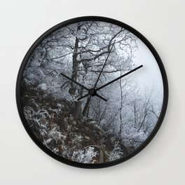 Blizzard // #TravelSeries Wall Clock