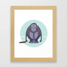 Monkey Business Framed Art Print