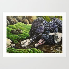 Uprooted (part 3) Art Print