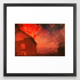 The Barn on Breakers Hill Framed Art Print