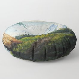 Majestic Mountains Floor Pillow