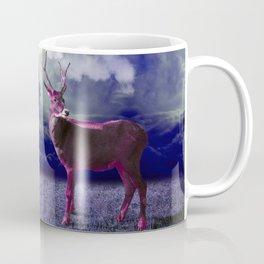 Le cerf dans les nuages Coffee Mug