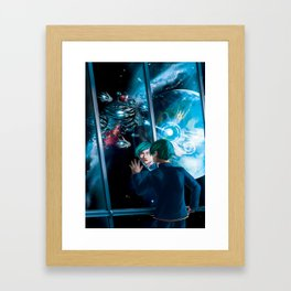 Space opera Framed Art Print