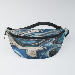 Calcite Marble Opal stone Fanny Pack