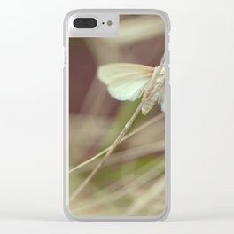 Summer butterfly Clear iPhone Case
