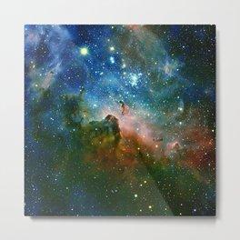 Hidden Secrets of Carina Nebula Metal Print