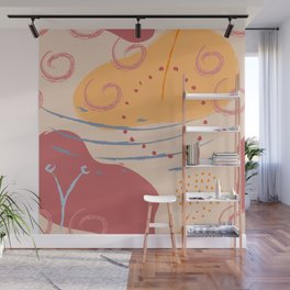 Abstract Patterns Wall Mural