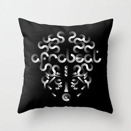 Afrobeat Mask Throw Pillow