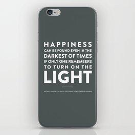 Light - Quotable Series iPhone Skin