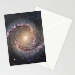Intermediate Spiral Galaxy NGC 1566 Stationery Cards