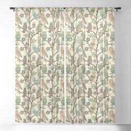Owls Sheer Curtain