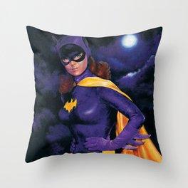 BATGIRL 1966 Throw Pillow