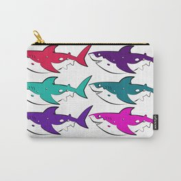 In Which Sharks Carry-All Pouch
