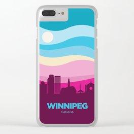 Winnipeg (Spring) Clear iPhone Case