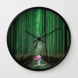 Arashiyama, Kyoto Japan Wall Clock