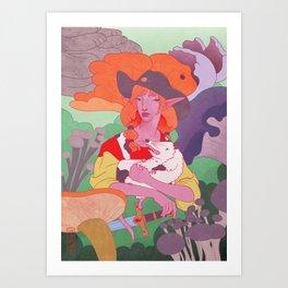 Crick Life Art Print