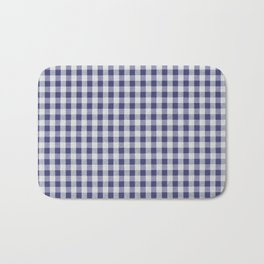 Remember Vichy (navy) Bath Mat