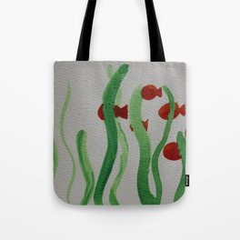 Going to School Tote Bag