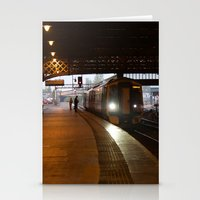 train Stationery Cards featuring Train by RMK Photography