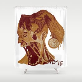 It's Time Again Shower Curtain