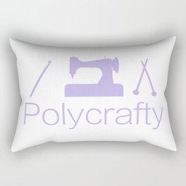 Polycrafty: Sewing Knitting Crochet Rectangular Pillow