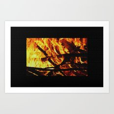FIRE UP YOUR ENGINE Art Print