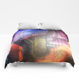 Midnight stray Comforters