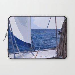 Sailing Winds - Sailing the Caribbean Laptop Sleeve