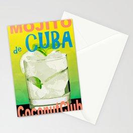 Mojito de Cuba Stationery Cards