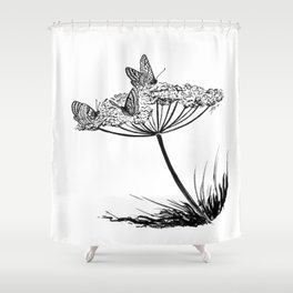Beautiful poison Shower Curtain