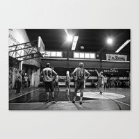 chile Canvas Prints featuring Basketball Chile by The Missionary Photographer