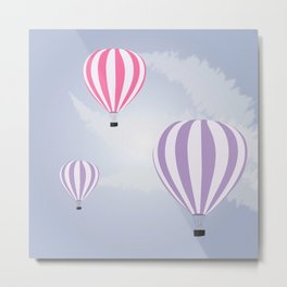 Air Ballons Metal Print