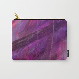 Positive vibes only - abstract painting Carry-All Pouch